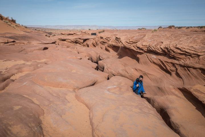Antelope Canyon von Oben