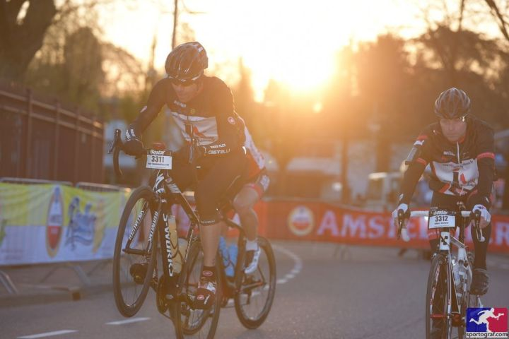 Amstel Gold Race - start during sunrise