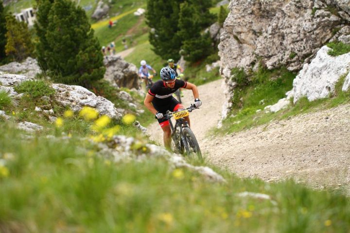 Sella Ronda Hero - Sportograf - Steep climb