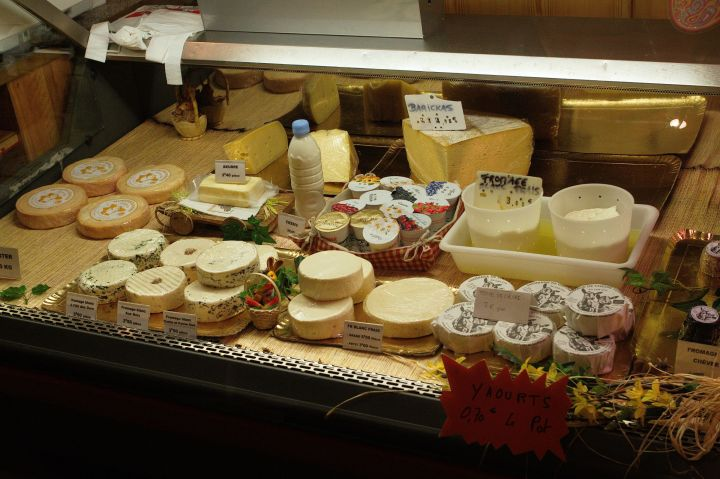 Cheese from a small farm in Munster-valley