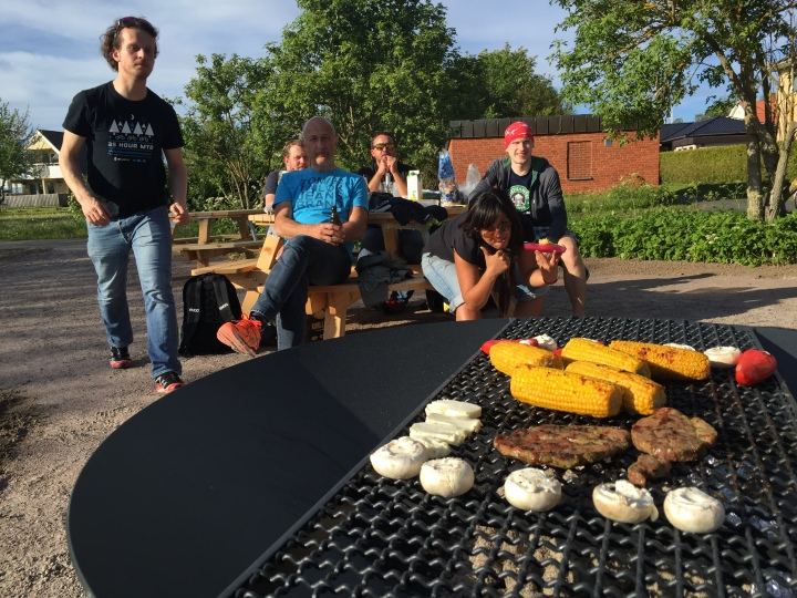 Barbecue night